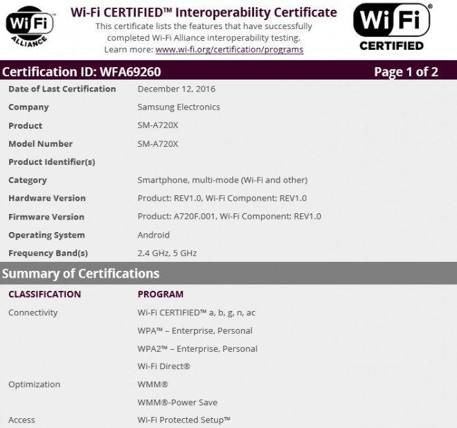 A7 Wi Fi