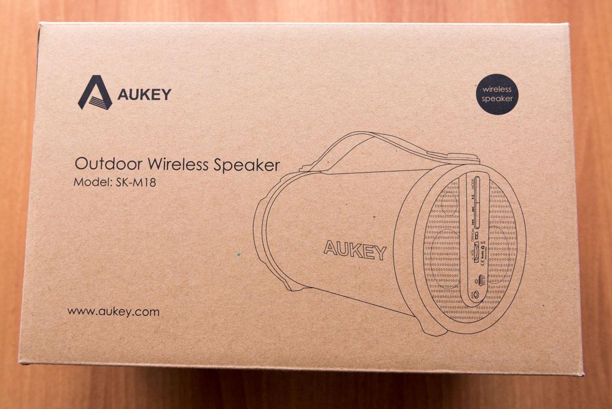 AUKEY Altoparlante wireless Bluetooth portatile SK M18 scatola
