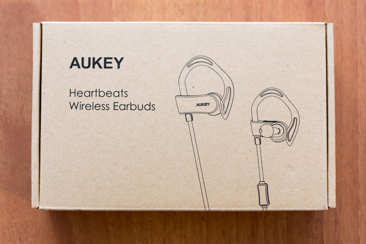 AUKEY Auricolari sport con pedometro e frequenza cardiaca EP B30 scatola
