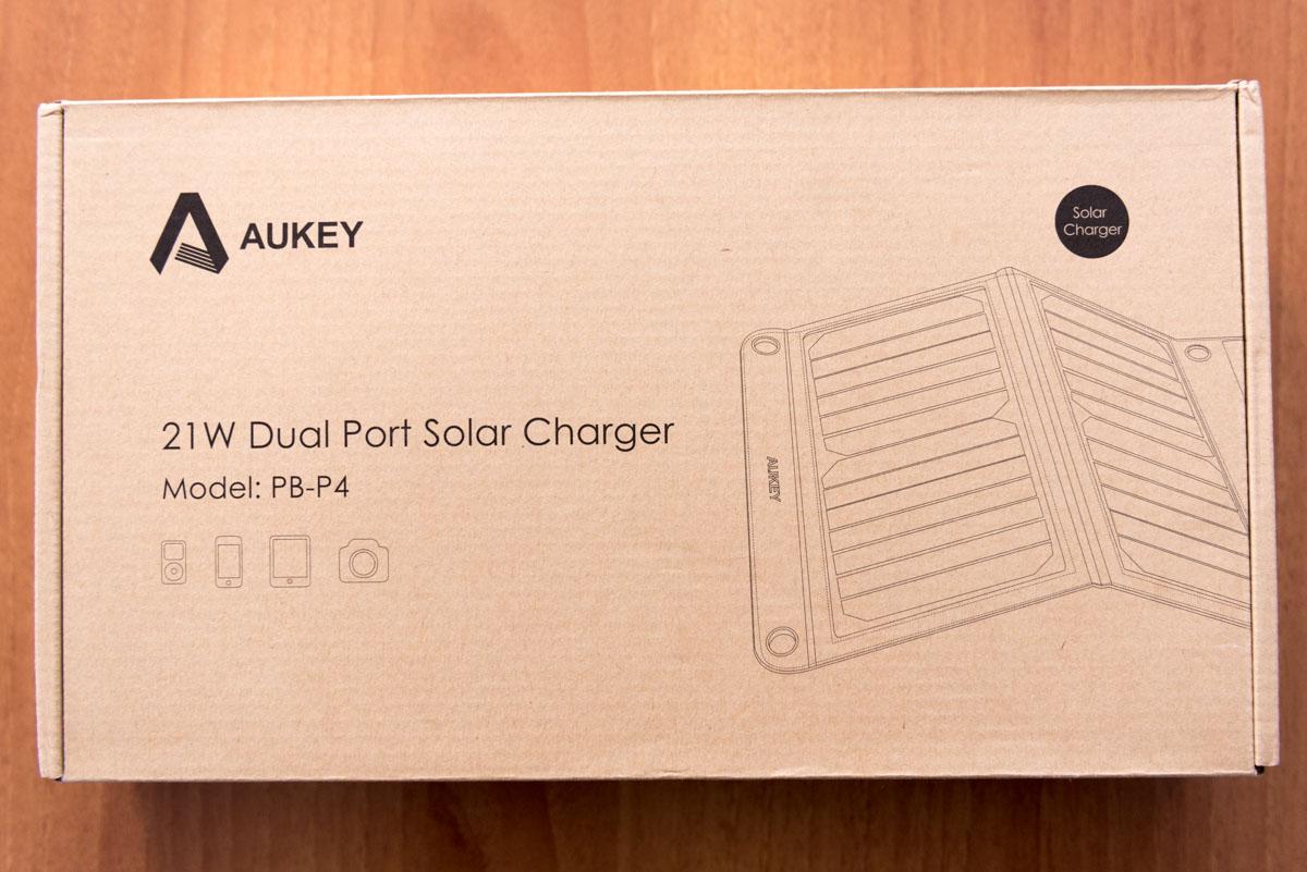 AUKEY Caricabatterie solare PB P4 scatola