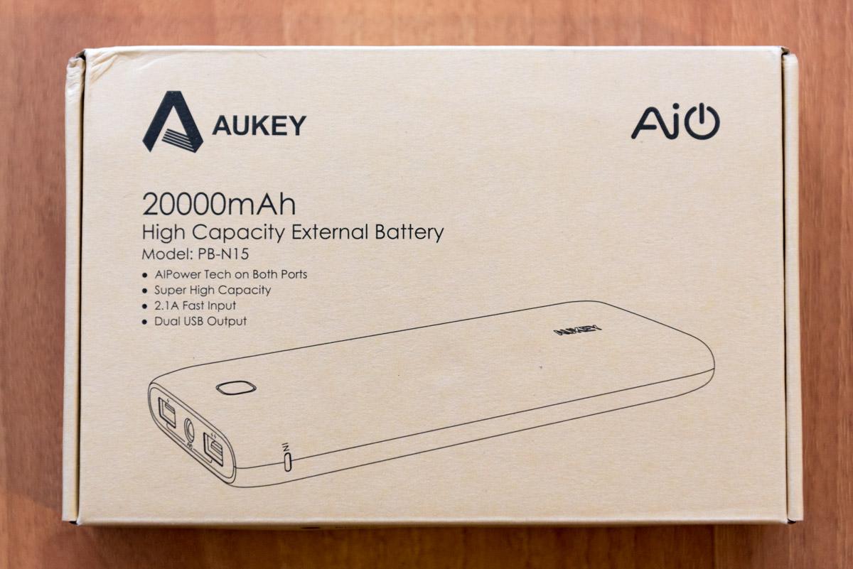 AUKEY Power Bank PB N15 da 20000 mAh scatola