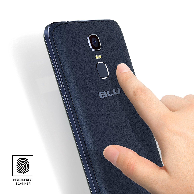 Blu Life Max fingerprint