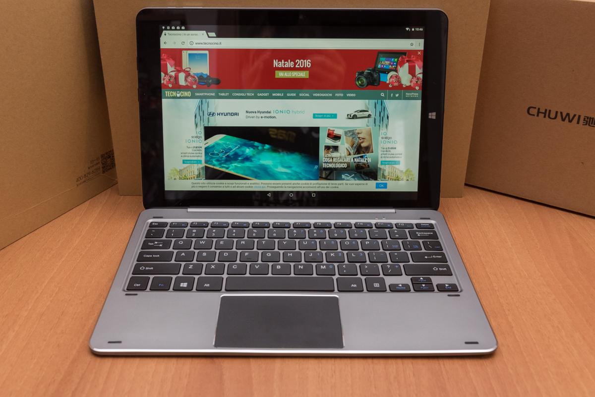 Chuwi Hi12 modalità notebook
