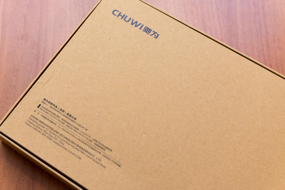 Chuwi Hi12 retro scatola