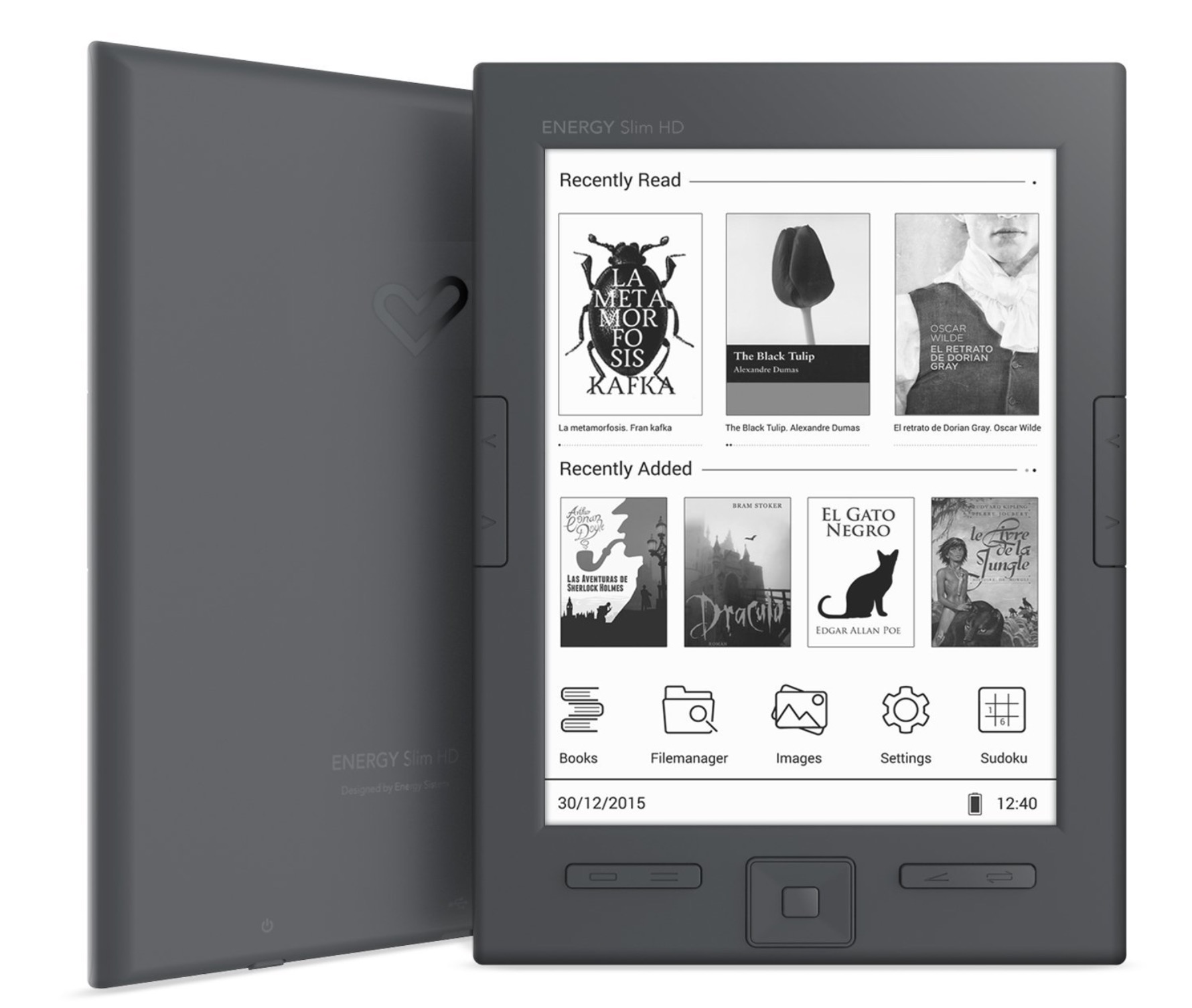 Energy Sistem eReader Slim HD ebook reader