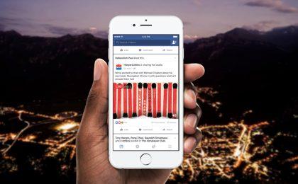 Facebook Live Audio: cos'è e come funziona lo streaming in diretta