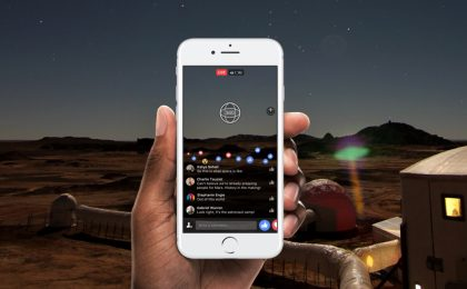 Facebook introduce i video Live a 360 gradi