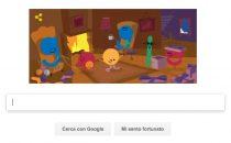 Google Doodle di buone Feste per il Natale 2016
