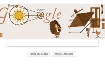 Google Doodle per lanniversario della determinazione della velocità della luce