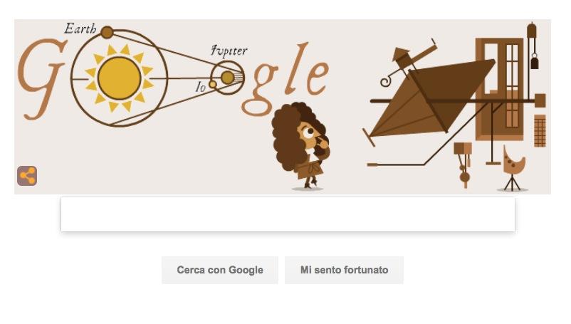 Google Doodle per l'anniversario della determinazione della velocità della luce