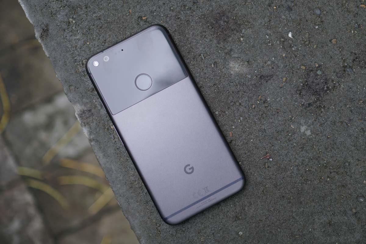 Google Pixel XL ricarica
