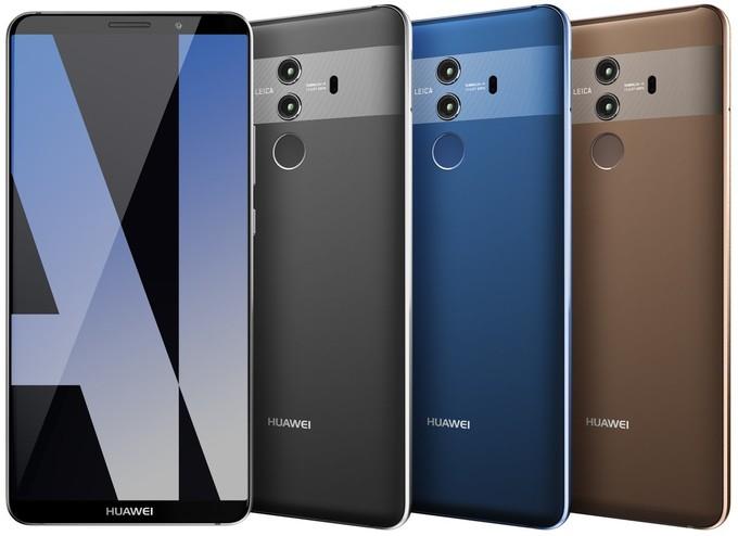 Huawei Mate 10 Pro colori