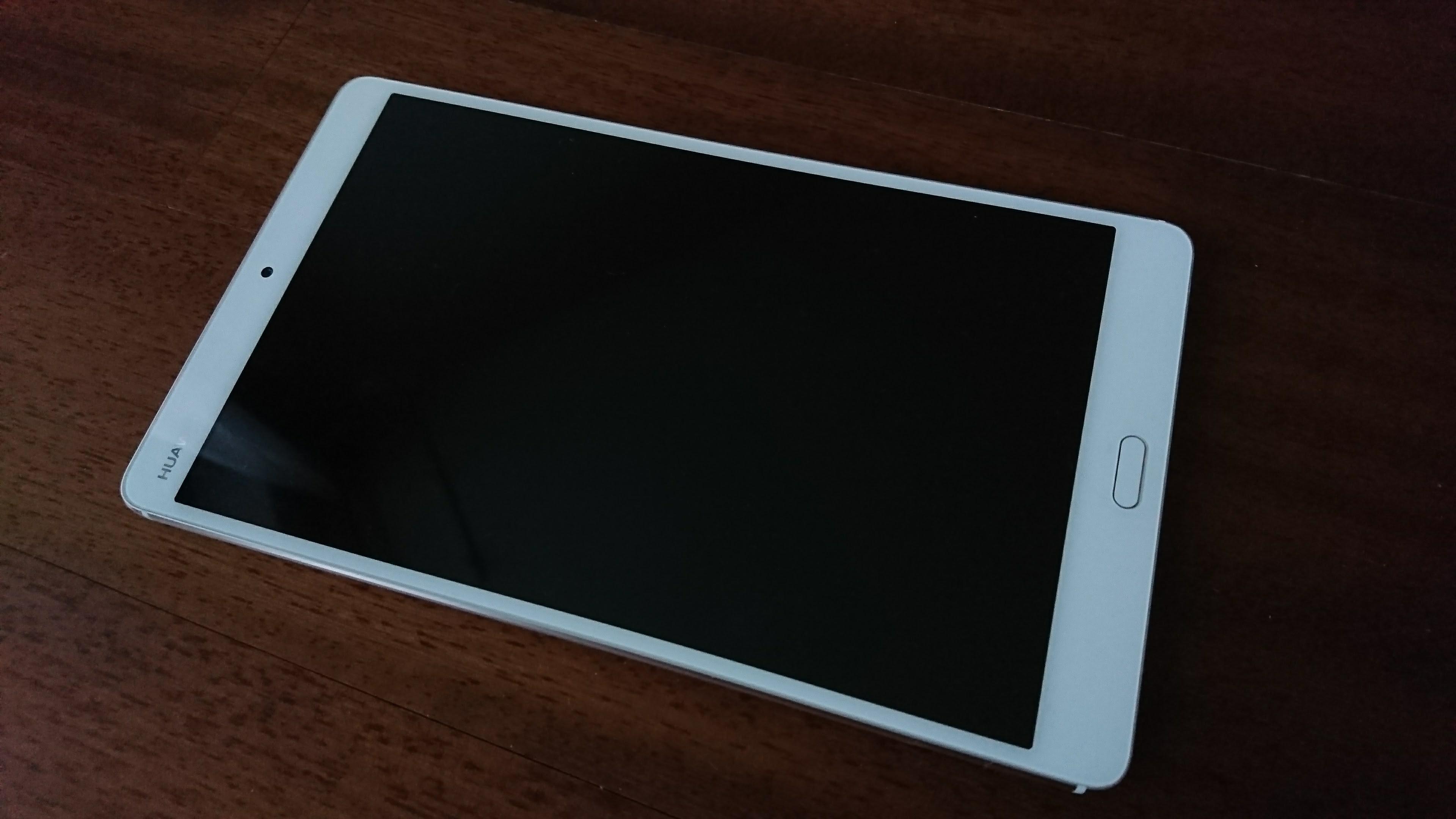 Huawei MediaPad M3 schermo