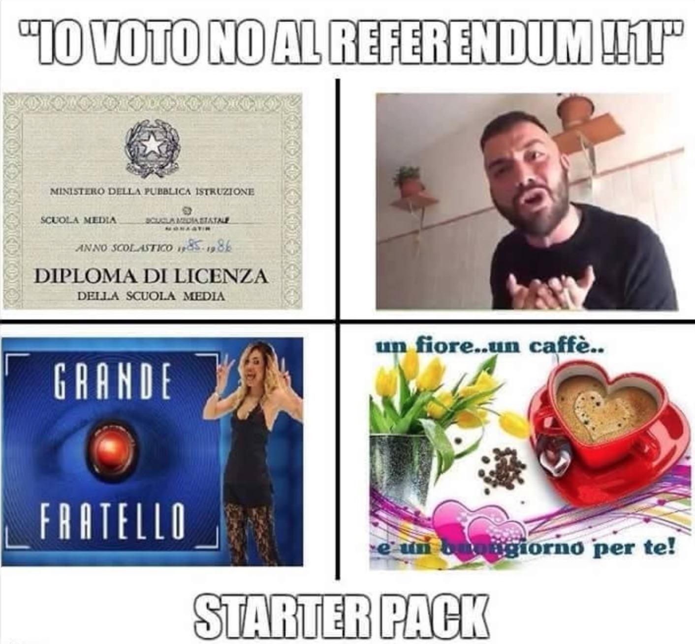 Io voto no al referendum