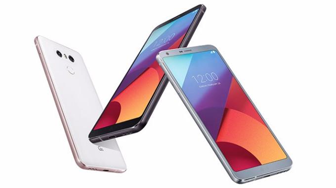 LG G6 foto ufficiale