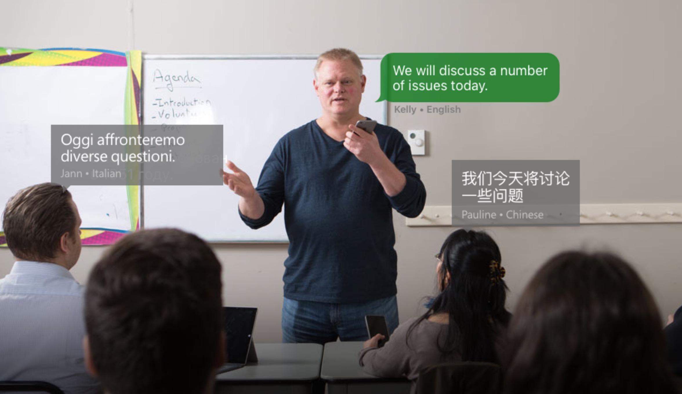 Microsoft Translator, traduzione in tempo reale nelle chat