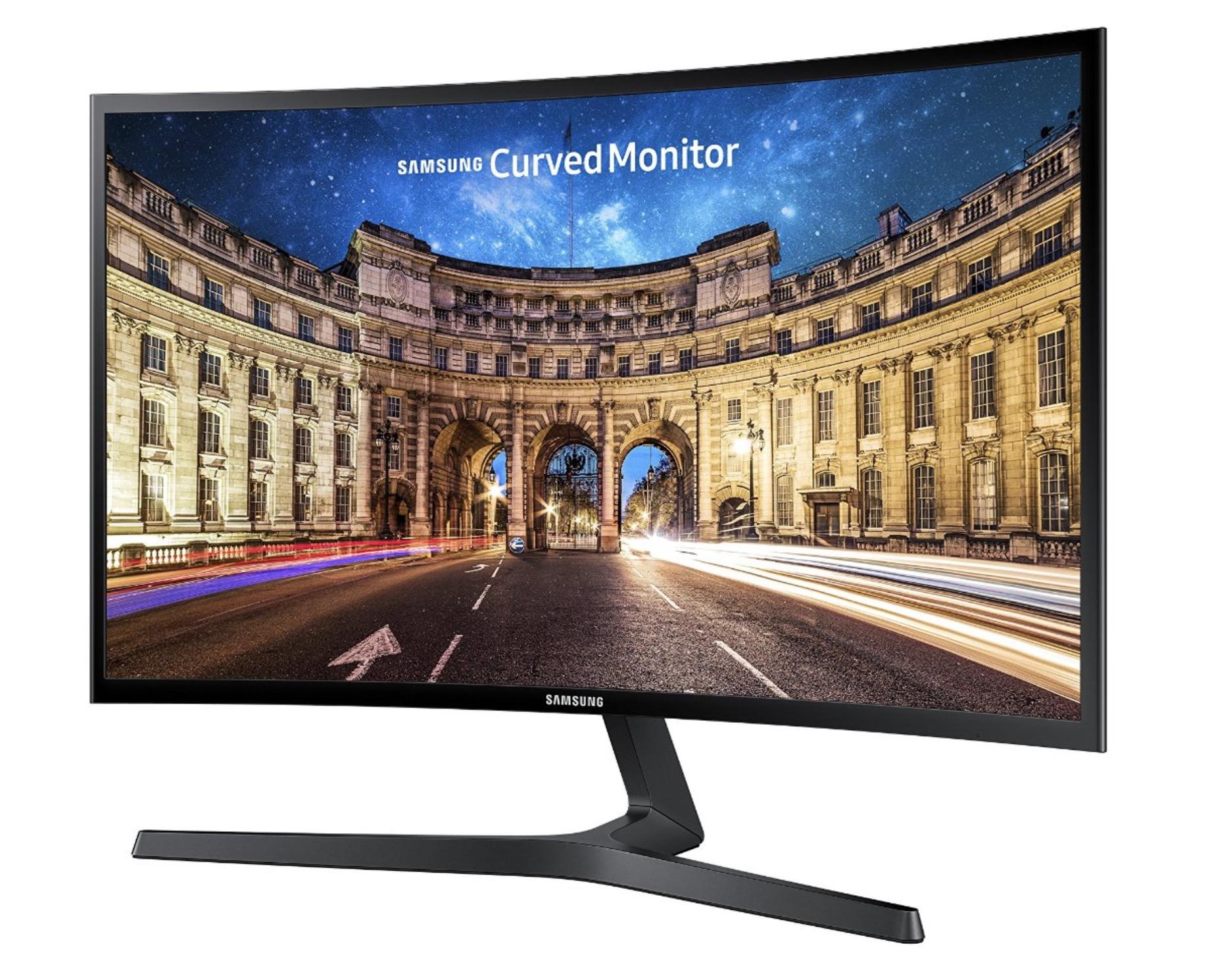 Monitor curvo Samsung C24F396