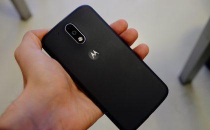 Moto G4 Plus in aggiornamento a Android 7.0 Nougat