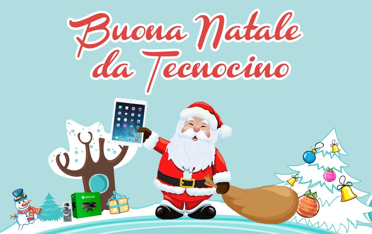 Auguri di Buon Natale 2016 dalla redazione di Tecnocino