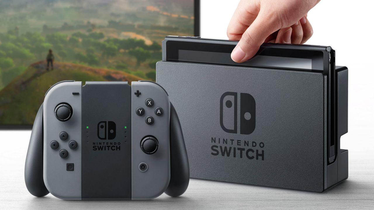Nintendo Switch, la batteria non sarà removibile