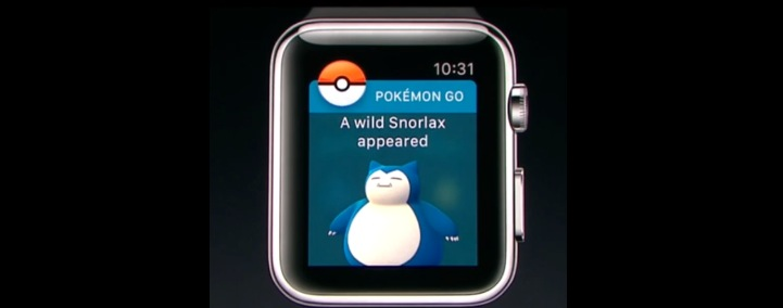 Pokemon Go per Apple Watch: il gioco in uscita per lo smartwatch