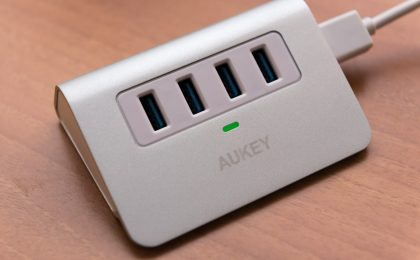 Hub AUKEY CB-H5 4 porte USB 3.0: recensione completa