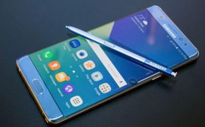 Samsung Galaxy Note 7, aggiornamento per disattivarlo da remoto