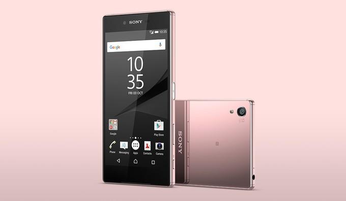 Sony Z5 Premium rosa