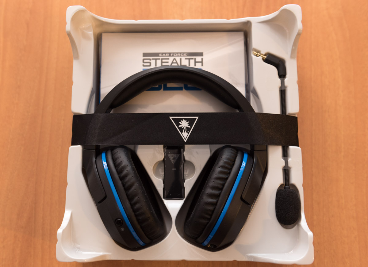 Turtle Beach Stealth 520 contenuto unboxing