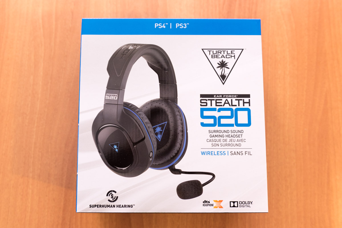 Turtle Beach Stealth 520 unboxing