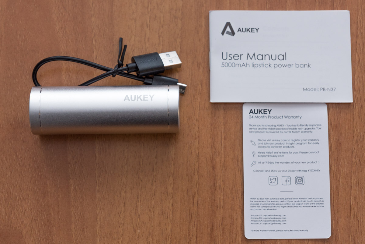 Unboxing Power Bank AUKEY PB N37