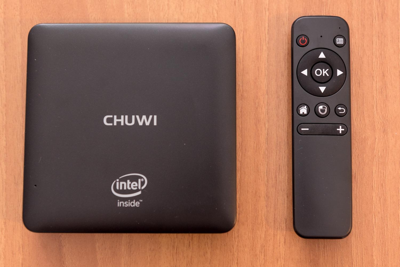 Chuwi HiBox Hero con telecomando