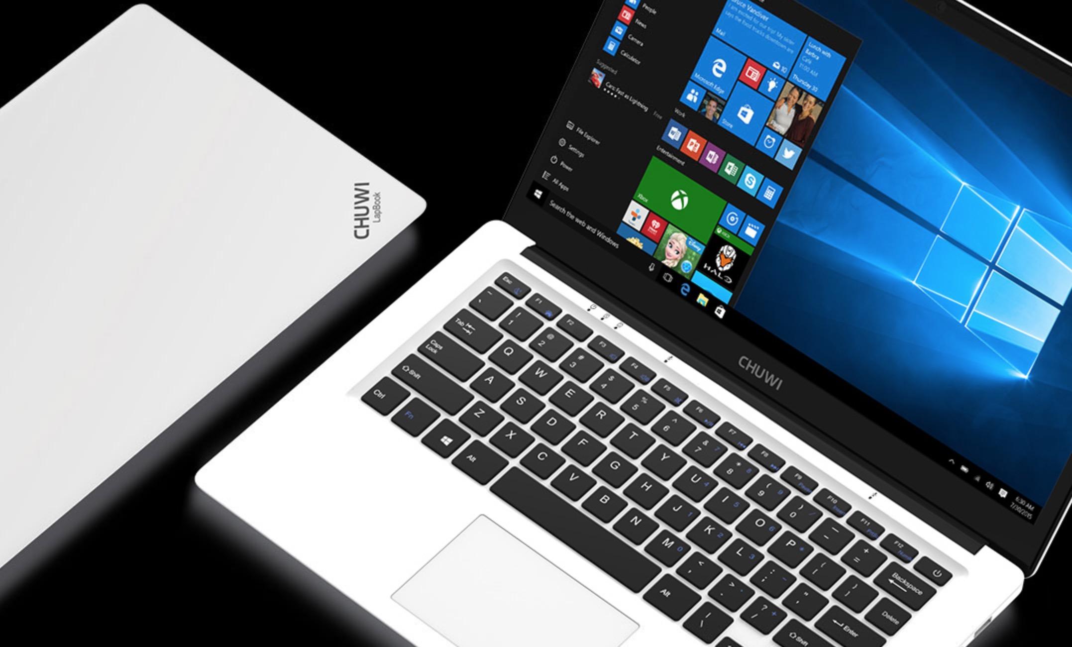Chuwi Lapbook 14.1 e Chuwi Hi10 Plus in sconto su AliExpress