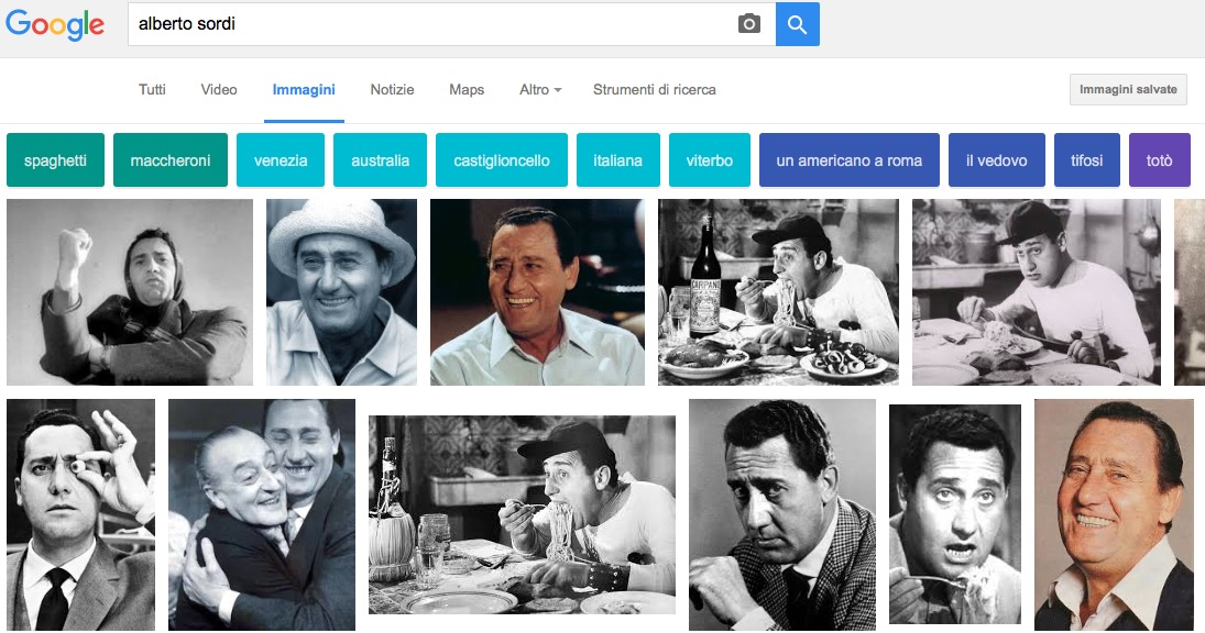 Google Immagini suggerimenti