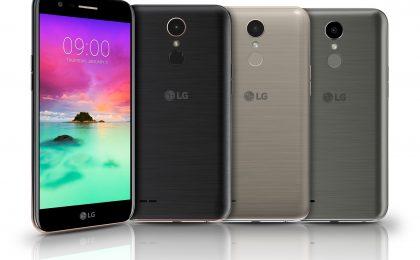 LG K10: prezzo e scheda dello smartphone medio range del CES 2017