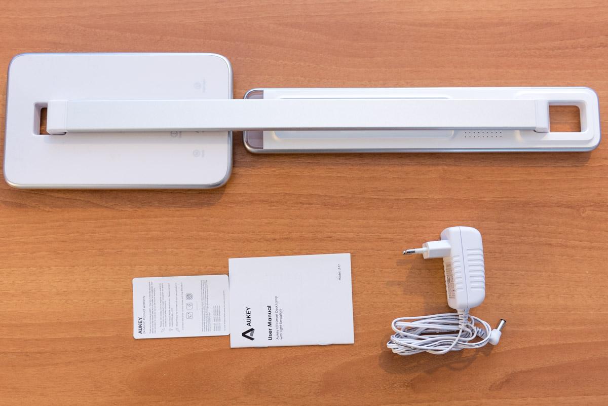 Lampada LED AUKEY LT T7 unboxing