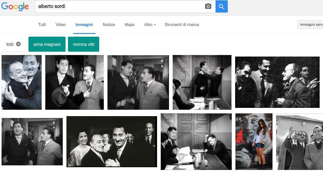 Ricerca Google Immagini suggerimenti