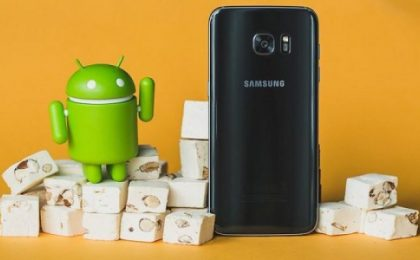 Samsung Galaxy S7: aggiornamento ad Android 7.1.1 Nougat in arrivo