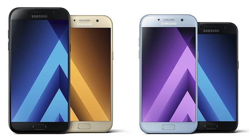 Samsung Galaxy A3, A5 e A7 (2017): prezzi e schede tecniche ufficiali