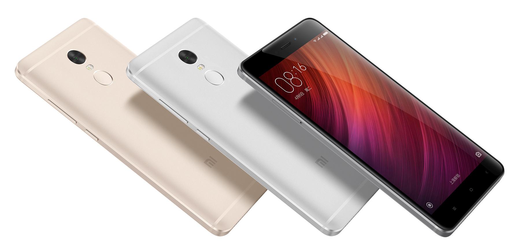 Xiaomi Redmi Note 4 colori