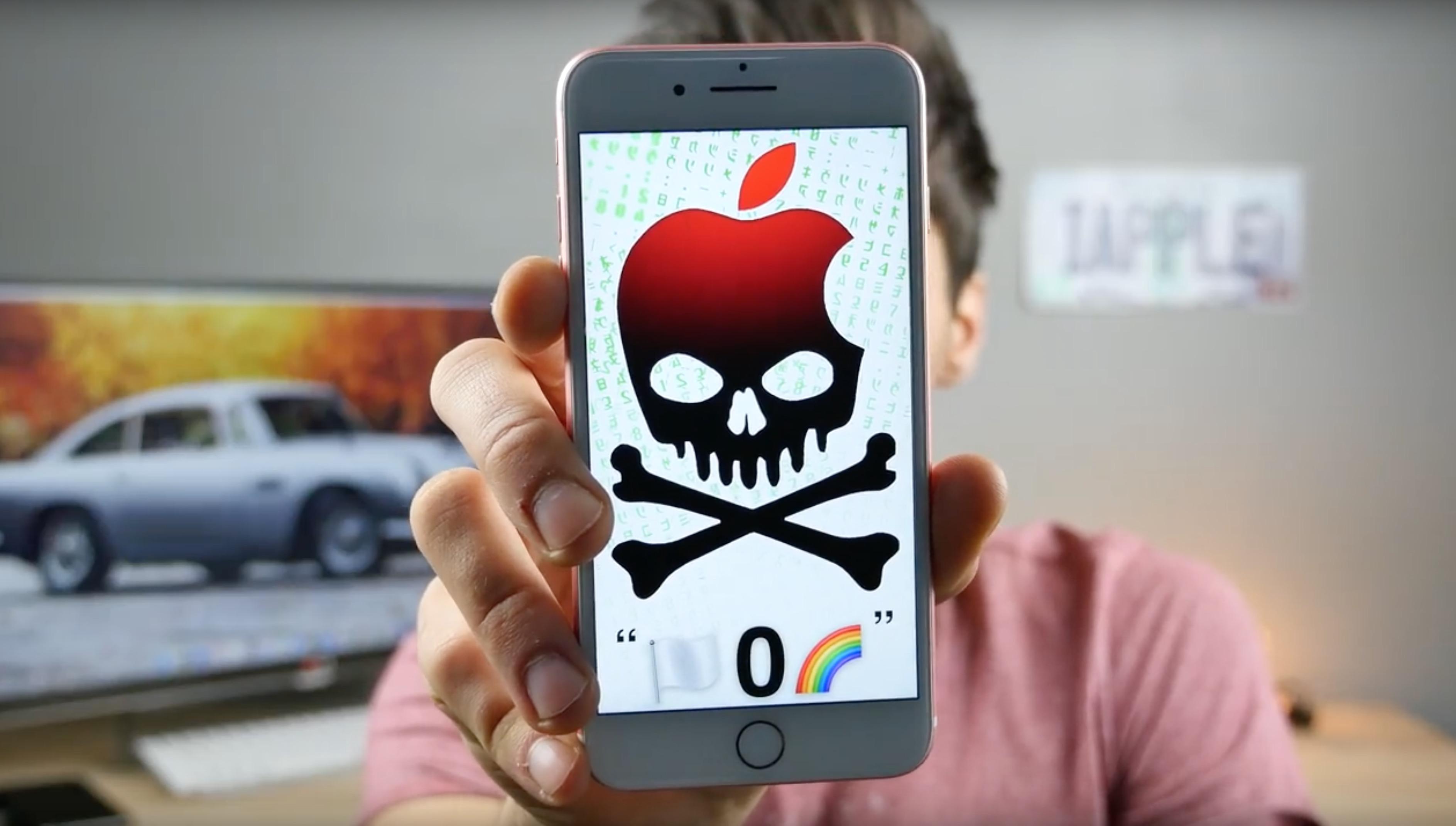 iOS 10 bug: il messaggio che manda in crash l'iPhone