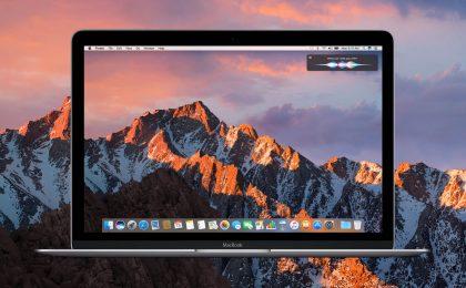 macOS Sierra 10.12.3 aggiornamento: tutte le novità