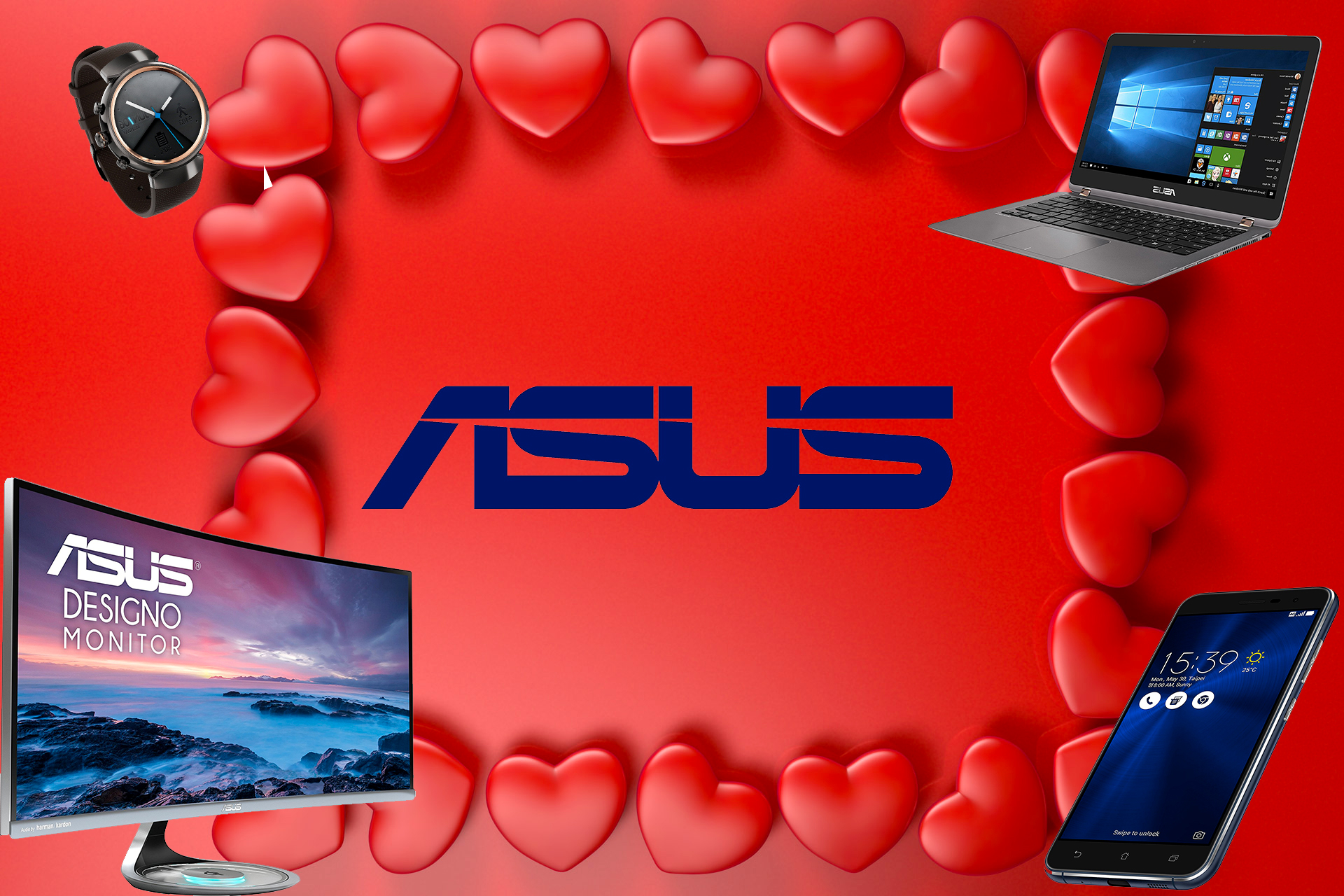 Offerte regalo per San Valentino 2017: le proposte tech di Asus