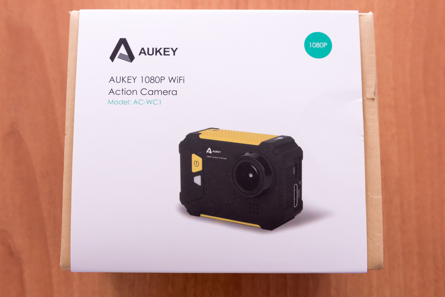 AUKEY AC WC unboxing