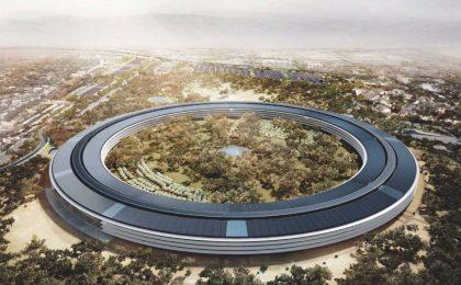 Apple Campus 2.0 sarà inaugurato in Marzo, l'opera è quasi completa