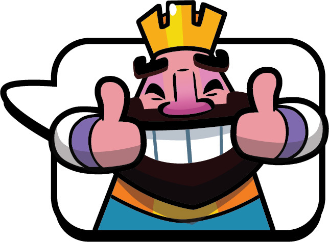 Clash royale king