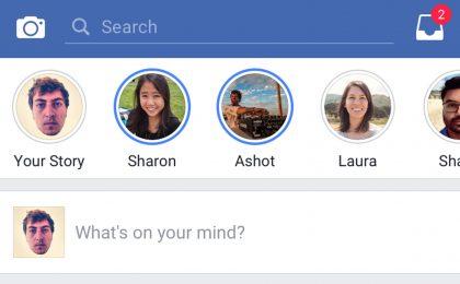 Facebook Stories: cos'è e come funziona