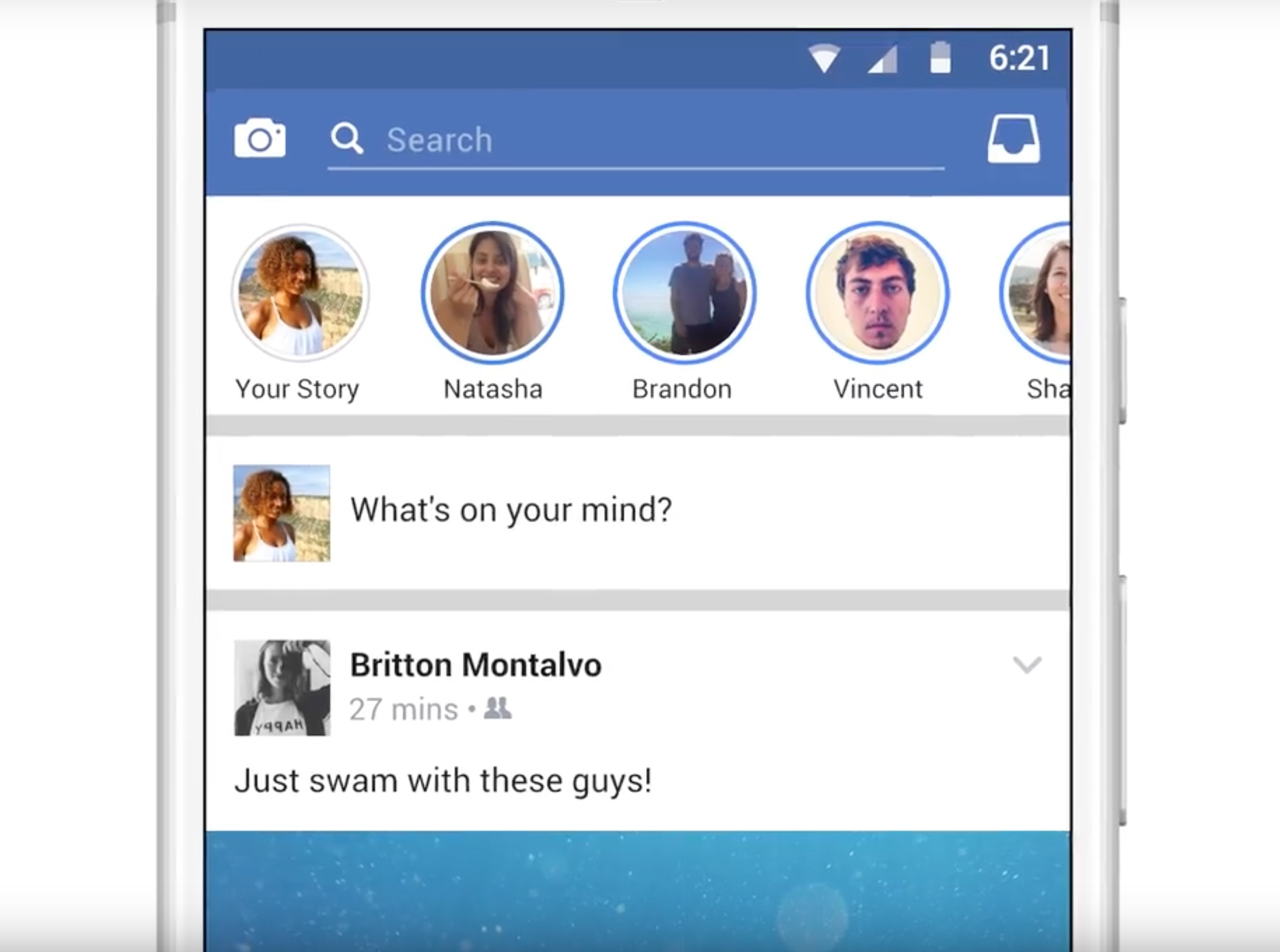 Facebook Stories e Direct