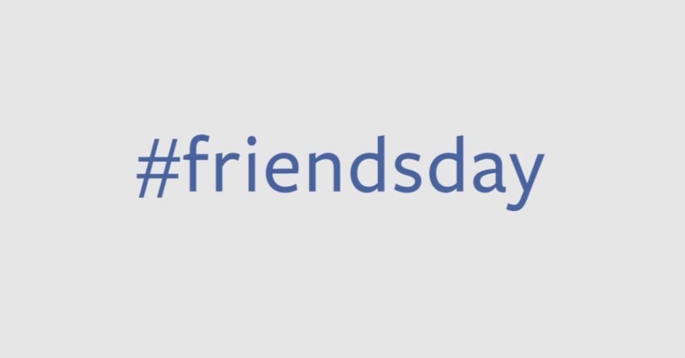 Hashtag friendsday