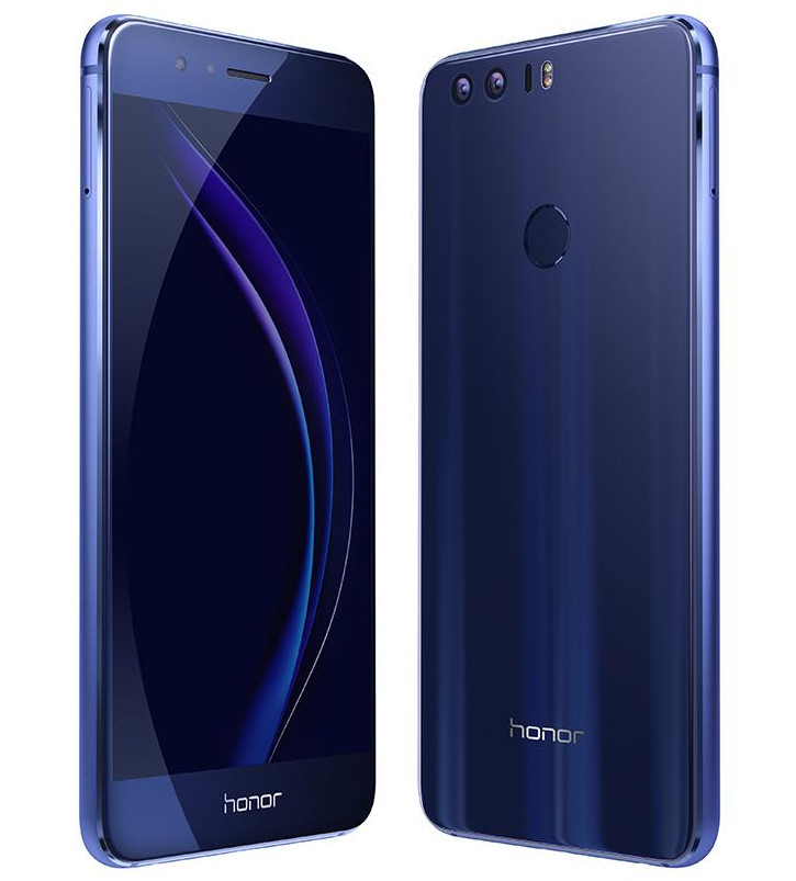 Honor 8 front back